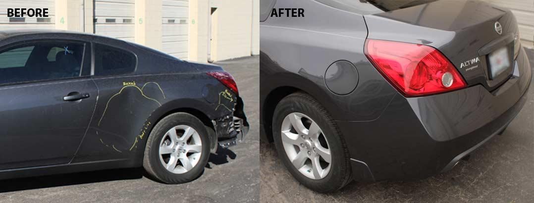 auto body repair Nissan