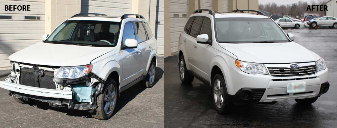 auto body repair Subaru