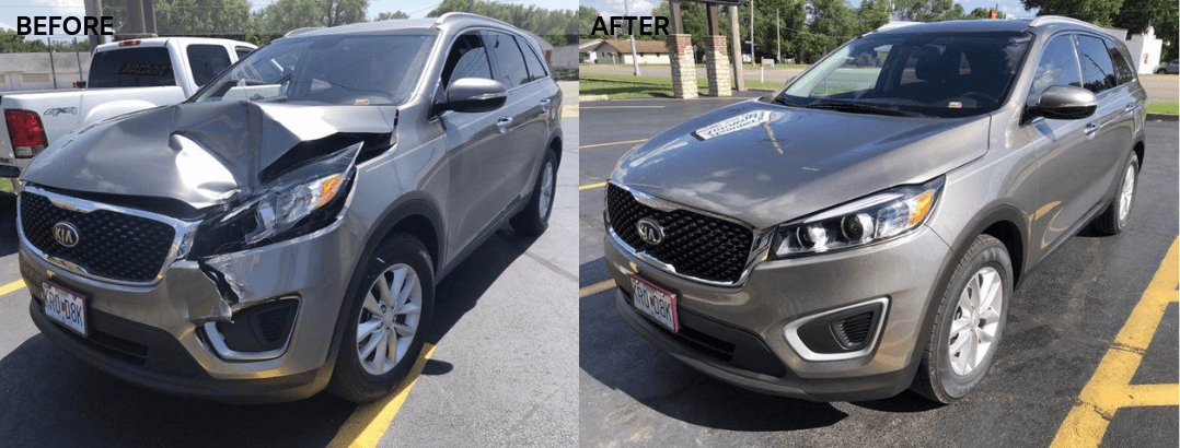 auto body repair kia