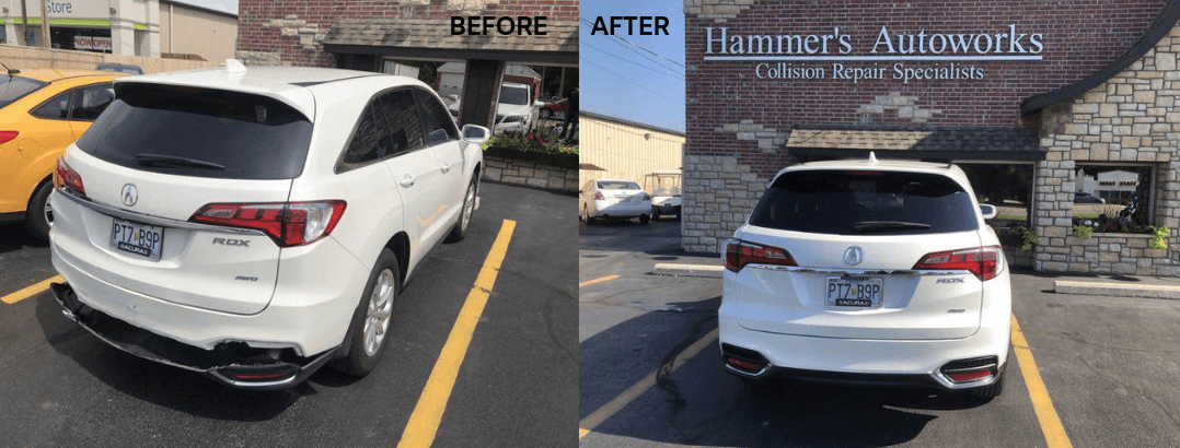 auto body repair infiniti