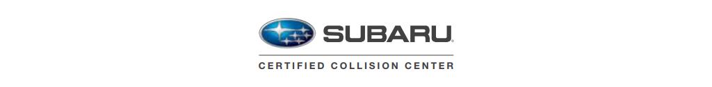 Certified Collision Care Provider for: Subaru