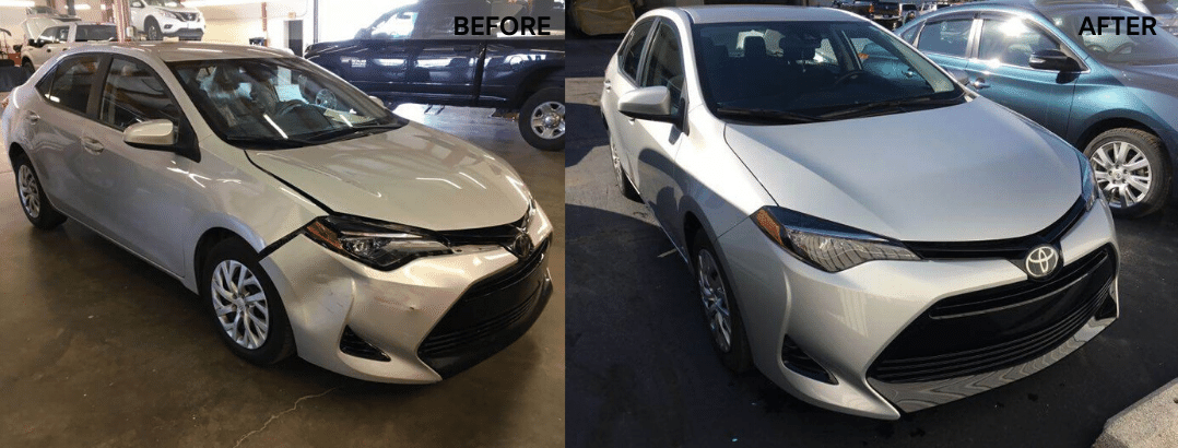 auto body repair toyota
