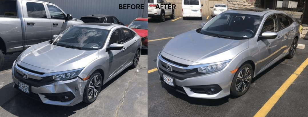 auto body repair honda