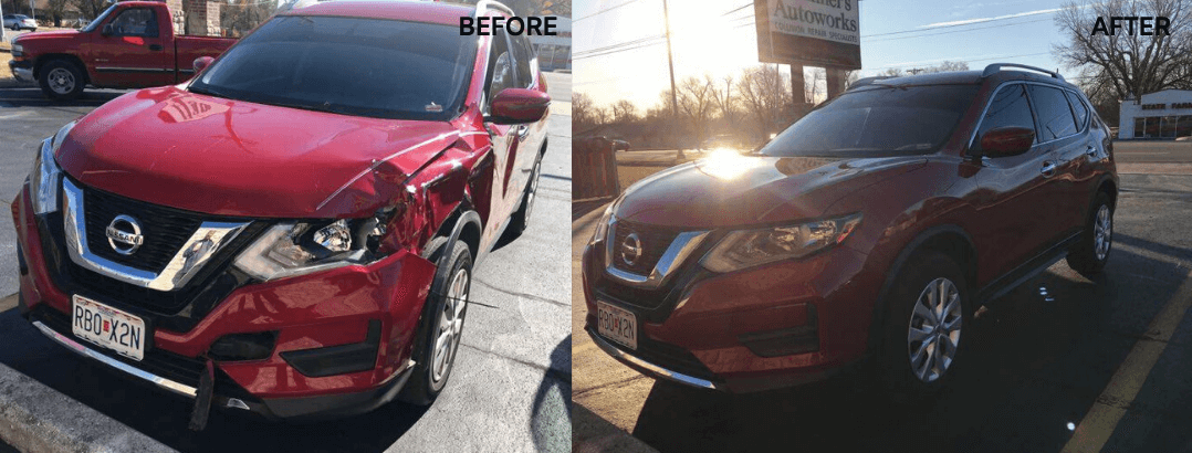 auto body repair nissan