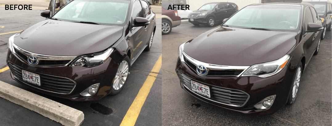 auto body repair 2014 toyota