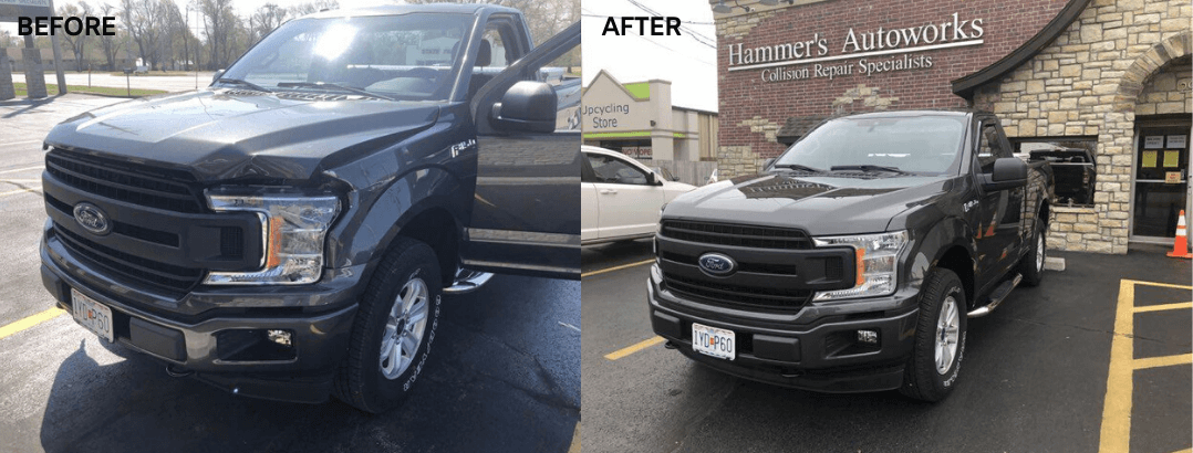 auto body repair ford truck