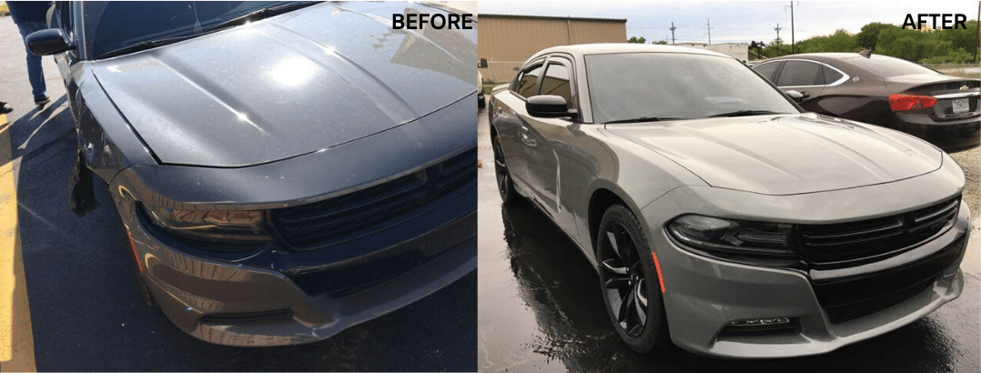 auto body repair dodge charger sxt rwd
